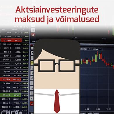 Aktsiatesse investeerimisega seotud maksud ja investeerimiskonto