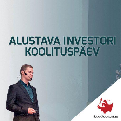RahaFoorumi alustava investori koolituspäev